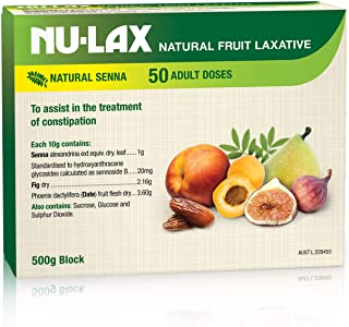 Nu-Lax Natural Fruit Laxative Block 500g