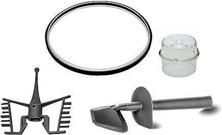 Thermomix TM31- Repuestos compatibles, espátula + mariposa + junta + tapón medidor