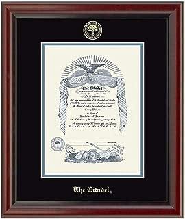 the citadel diploma frame