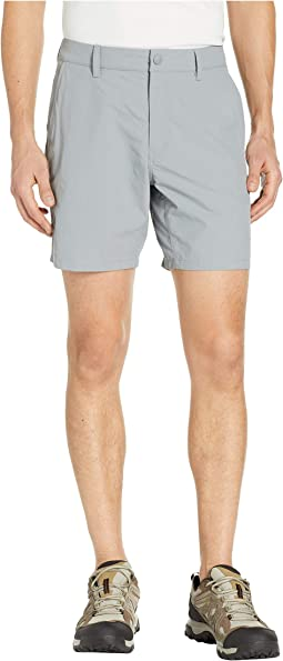 "Flat Front Adventure 7"" Shorts"