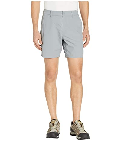 The North Face Flat Front Adventure 7 Shorts (Mid Grey) Men