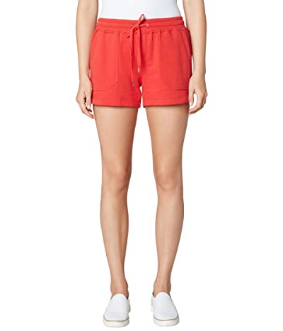 Liverpool Pull-On Knit Shorts with Porkchop (Molten Lava) Women