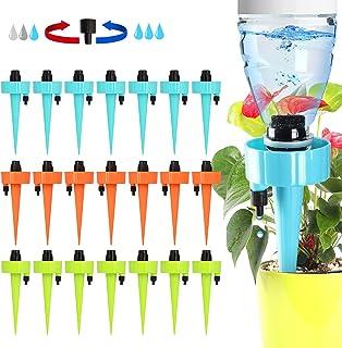 XUEEU Irrigazione A Goccia, 21 Pz Irrigazione Goccia Automatica, Pezzi Irrigazione A Goccia con Interruttore della Valvola...
