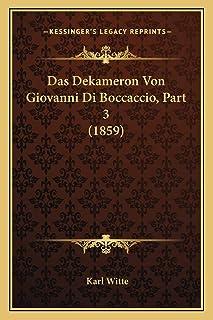 Das Dekameron Von Giovanni Di Boccaccio, Part 3 (1859)