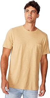 Cotton On Men's Short Sleeve Slub Crew Neck T-Shirt