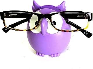 Owl Glasses Sunglasses Eyeglass Holder Stand Display Rack Smartphone Holder, Random Mix, One Size Fits Most