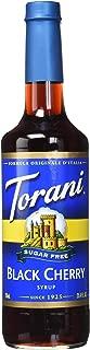 Torani Sugar Free Black Cherry Syrup 750mL