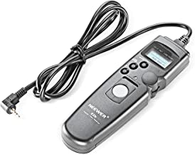 Neewer LCD Digital Timer Remote Control Shutter Release Compatible with Canon EOS 1200D 1100D 1000D 700D 650D 600D 60D 550D 500D 450D 100D Pentax K200 K110D K20D K10D Cameras and more