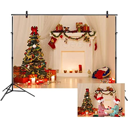 4X6FT-Christmas Party Decoration Photography Backdrops Love Wood Photo Studio Background