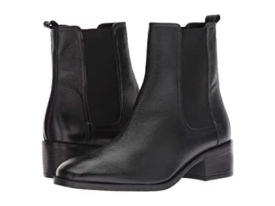 Kenneth Cole Reaction Salt Chelsea Boot (Black Leather) Women
