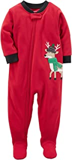 Carter's Baby Boys' 1-Piece Fleece Footed Pajamas