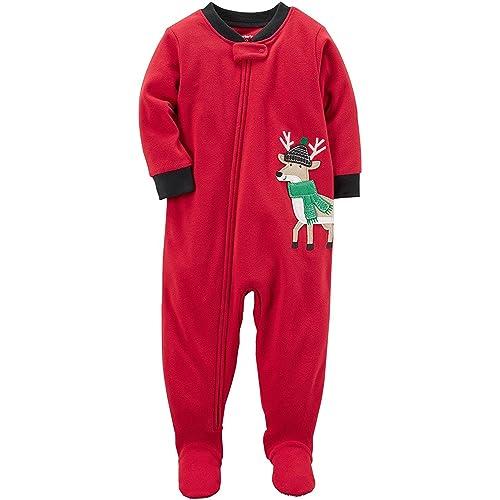 efcd6ba69 Carter s Reindeer Pajamas  Amazon.com
