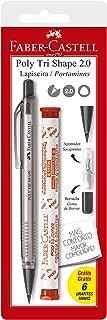 Lapiseira Poly Shape 2.0mm e Grafite, Faber-Castell, SM/20TSCMIX, Multicor
