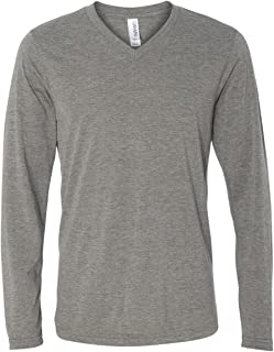 Bella Canvas 3425 - Long Sleeve V-Neck T-Shirt
