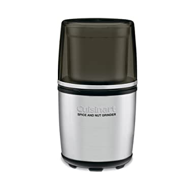 Cuisinart SG-10 Electric Spice-and-Nut Grinder, Stainless/Black