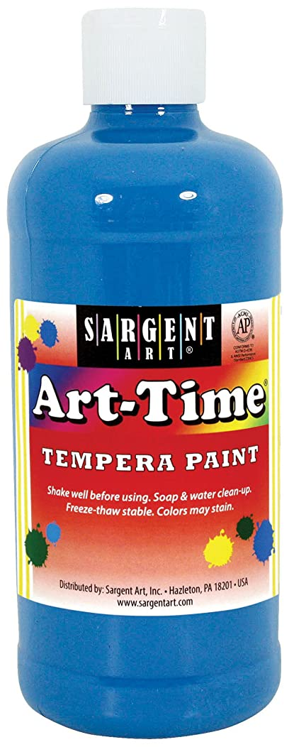 Sargent Art 17-6461 16 oz Turquoise Art-Time Tempera Paint