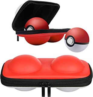 EEEKit Portable Carrying Case for Nintendo Switch Poke 2 Ball Plus Controller, Travel Bag for Pokémon Let's Go Pikachu Eevee for Switch