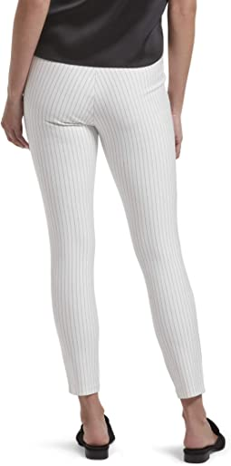 Bright White Pinstripe