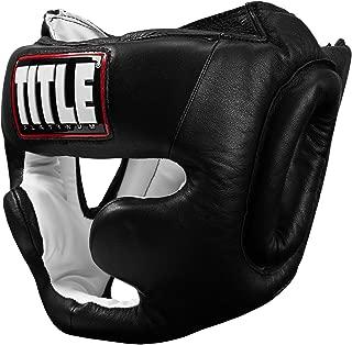 TITLE Platinum Full Face Training Headgear
