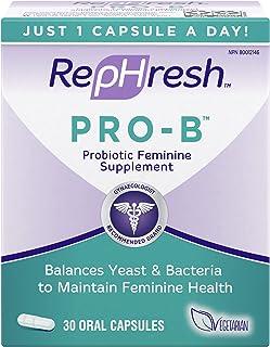 Rephresh Pro-b Probiotic Feminine Supplement 30-count Capsules