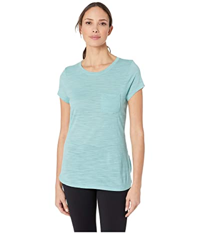 Smartwool Everyday Exploration Slub Short Sleeve Tee (Nile Blue) Women