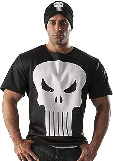 Rubie's Costume Co Men's Marvel Universe Punisher T-Shirt