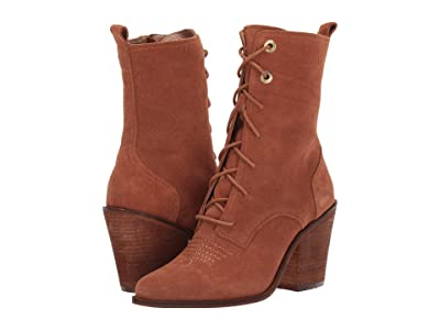 Chinese Laundry Sabrina (Aged Cognac Split Suede) Women