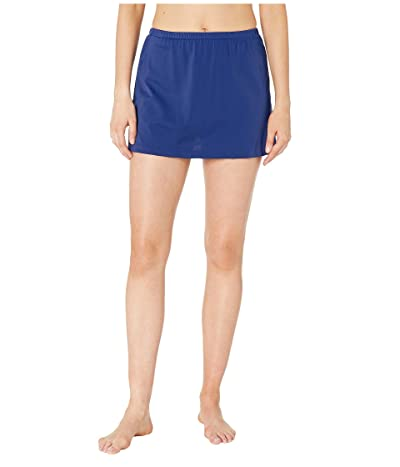 Maxine of Hollywood Swimwear Solids Separate Skirted Pant Bottoms (Navy) Women