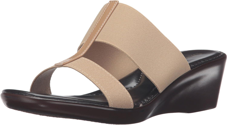 Italian shoesmakers Womens 400m Wedge Sandal