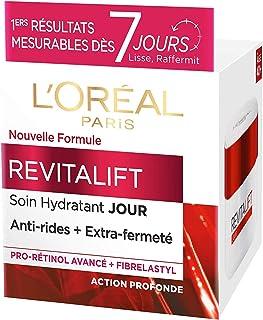 L'Oréal Paris - Revitalift - Soin Jour Hydratant - Anti-Rides & Extra-Fermeté - Anti-Âge - 50 mL