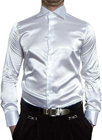Renzo - Camisa Casual - Cuello Kent - Manga Larga - para Hombre
