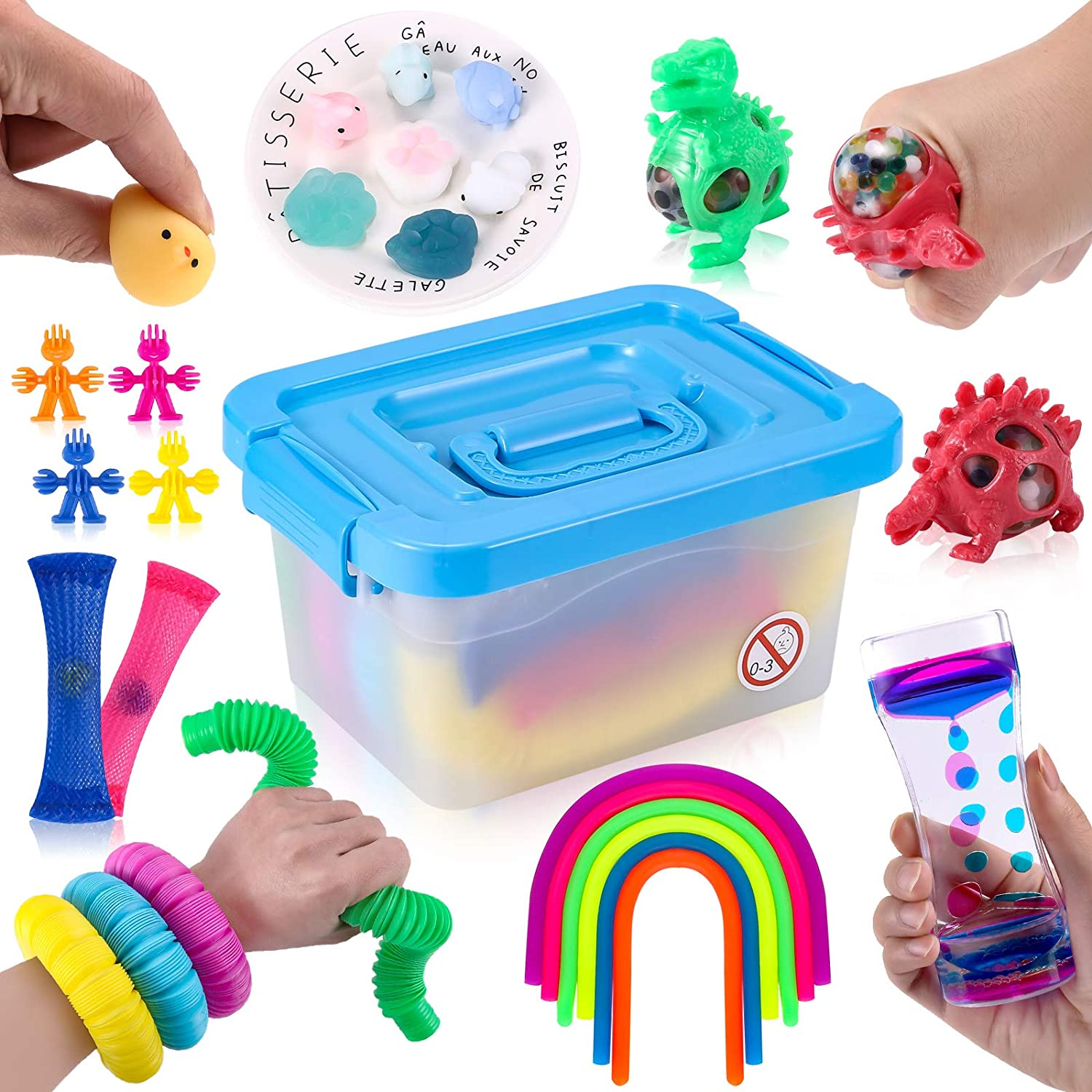 HEAWAA Sensory Fidget Toys 26 Regular dealer Pack . Stress safety and Relief Anti-Anxi