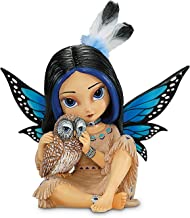 The Hamilton Collection Jasmine Becket-Griffith Moonheart, Spirit of Wisdom Native American-Inspired Fairy Figurine