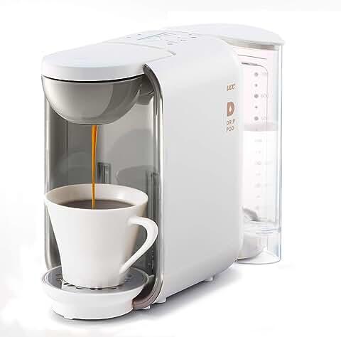 UCC コーヒーメーカー [ドリップポッド] 本格 ドリップコーヒー カプセル式 (ホワイト) DP2(W)