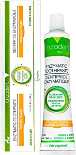 Vetoquinol Enzadent Enzymatic Toothpaste for Cats & Dogs – 3.2 oz,