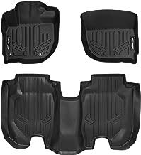 SMARTLINER Custom Fit Floor Mats 2 Row Liner Set Black for 2016-2019 Honda HR-V