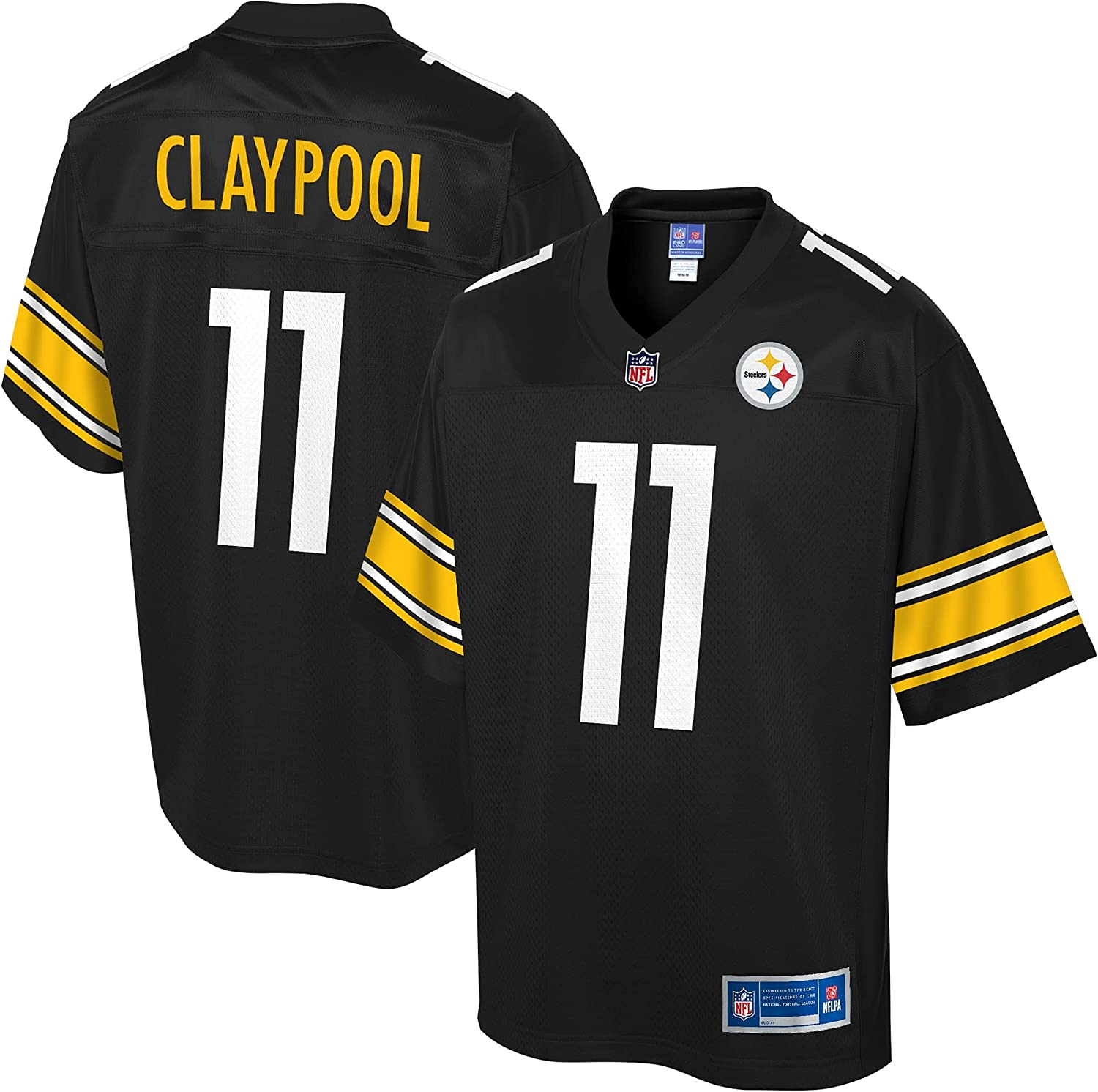 NFL PRO LINE Ranking TOP11 Max 48% OFF Men's Chase Team Pittsburgh Claypool Steelers Black
