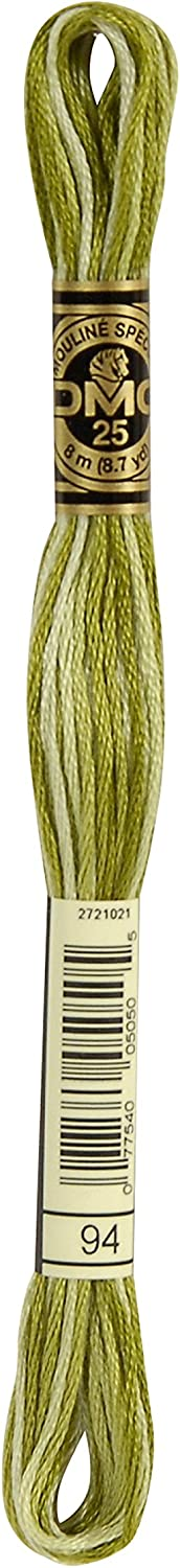 DMC Bulk Buy Thread 6-Strand Today's only Embroidery Recommendation Cotton Yards 8.7 Variega