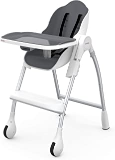 Oribel Cocoon High Chair - Slate, Large