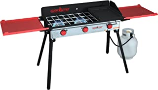 Camp Chef PRO90X Three-Burner Camp Stove with Professional SG14 Griddle - Bundle