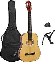 Rocket XF201CN XF Serie - Guitarra española clásica, 94 x 41 x 10,5 cm, Color Natural, Tamaño 3/4