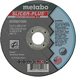 """4-1/2"""" Slicer + Cutting Wheel (50pk)"""