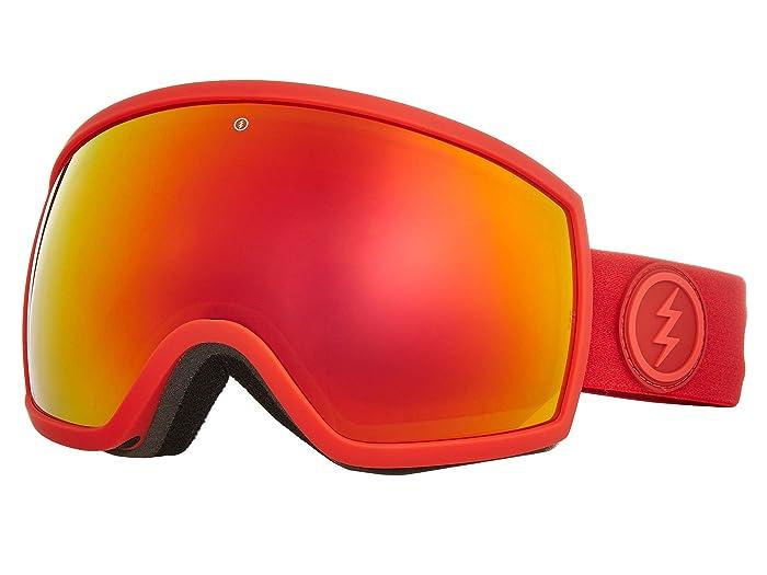 EGG (Heat/Brose/Red Chrome) Athletic Performance Sport Sunglasses