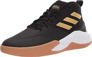adidas Men's OWNTHEGAME Track Shoe, core Black/Matte Gold/FTWR White, 7.5 Standard US Width US