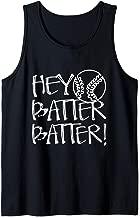 Hey Batter Batter - Funny Baseball Mom Tank Top
