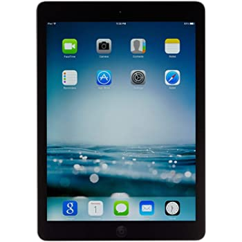 Apple iPad 9.7inch with WiFi 32GB- Space Gray (2017 Model) (Renewed)
