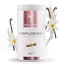 Shake Powder Meal Replacement for Women – High Quality Certified Protein Shake with Essential Vitamins and Minerals Healthy Tasty Weight Loss Formula – 500 gr Vanilla Estimated Price : £ 34,90