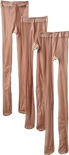 Jefferies Socks Little Girls'  Jr Miss Pantyhose Tights  (Pack of 3)