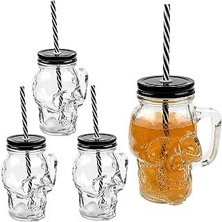 1 Stk Trinkglas mit Meerjungfrauen-Motiv