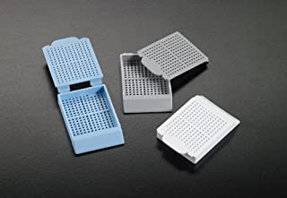Simport Scientific M499-6 Histosette I Acetal Polymer Biopsy Processing/Embedding Cassette, Blue
